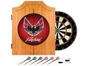 Trademark Poker Pontiac Firebird Red Wood Dart Cabinet Set