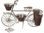 Red Carpet 20087 Bicycle Garden Decor Med Bronze