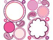 Roommate RMK1657SCS Paisley Dry Erase Wall Decals