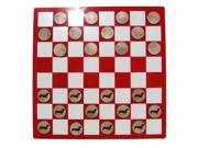 CAMIC designs DOG004CKS Laser-Etched Dachshund Checkers Set