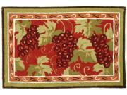 Homefires PY-JB036 Provence Grapes Rug