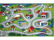 LA Rug FT-003 1929 Fun Time Collection - Country Fun Rug - 19 x 29 Inch