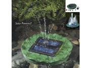 Garden Sun Light APP005C SOLAR FLOATING LILY FOUNTAIN WITH BATTERY LED & REMOTE