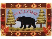 "Homefires PY-JB040 22"" x 34"" Bear Lake Accent Rug"
