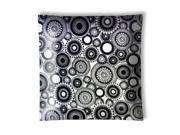 New Image Concepts 2456 Black and White Kaleidescope Ceiling Lamp Light