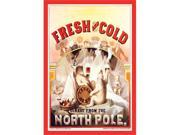 Buyenlarge 19772-2P2030 Fresh and Cold - Direct from the North Pole 20x30 poster