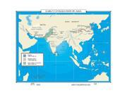 Universal Map 0762550074 No. 108 Early Civilization In Asia, 3000- 1000 BCE