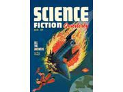 Buyenlarge 03024-0P2030 Science Fiction Quarterly - Comet Crashes into Rocket 20x30 poster