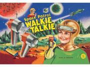 Space Patrol Walkie Talkie 20x30 Poster