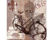 Galaxy of Graphics GLXGOGP13556 Paris Trip Poster by Carol Robinson -12.00 x 12.00