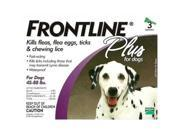 Frontline 45-88-3PK-PS Flea Control Plus for Dogs And Puppies 45-88 lbs 3 Pack