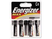Eveready E93BP4 Alkaline Batteries  C  4 Pack