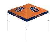 Trademark Poker 80-S111-AU Auburn Tigers Gazebo Canopy - 10 ft. x 10 ft.