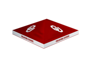 Trademark Poker 80-TOP-OK First-UpT NCAA Oklahoma Sooners - Top Only  10 x 10