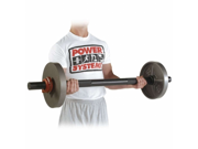 """Power Systems 50060 47"""" Fat Bar - Short with Collars and Plates Sold Separately"""
