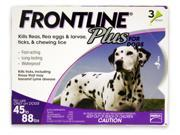 MERIAL 004FLTSP-45-88 Frontline Plus Flea & Tick for Dogs 45-88 lbs, 3 Month