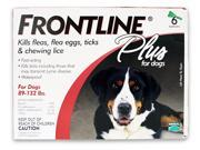 MERIAL 004FLTSP6-89-132 Frontline Plus Flea & Tick for Dogs 89-132 lbs, 6 Month