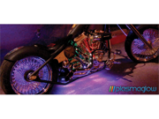 PlasmaGlow 10579 Flexible LED Motorcycle - ATV Kit - BLACK LIGHT