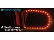 PlasmaGlow 11071 AfterBurner LED Mirror Kit - RED