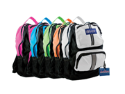 Bazic Products 1002-20 17 in. Active Backpack