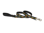 Lupine 51858 1 in. Woofstock 4 ft. Padded Handle Dog Leash