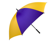 Haas-Jordan by Westcott 7684 Pro-Line Umbrella Purple-Gold