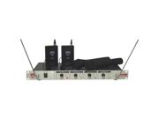 Nady 401X QUAD Wireless Microphone System