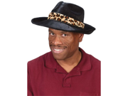 WMU 553256 Adults Hat Pimp - Black