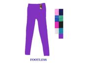WMU Ladies Plain Footless Leggings- Lavender
