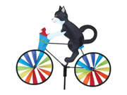Premier Designs PD26859 20 inch Tuxedo Cat Bicycle Spinner