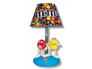M&M M10DL8 M&Ms Table Lamp with Night Light