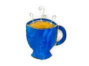Switchables SWITCHSW090 Stained Glas Light Catcher - Coffee Cup