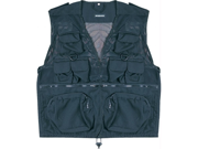 Humvee HMV-VC-BK-M Humvee Combat Black Tactical Vest Medium