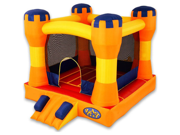 Blast Zone Play Palace Inflatable Bounce House