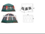 Gigatent FT 049 Prospect Rock 10 x 8 Family tent- sleeps 4-5