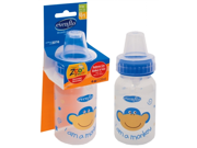 Evenflo Company 1334111 4 Oz Zoo Friends BPA Free Plastic Bottles