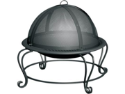Char-Broil Stainless Steel Outdoor Firebowl 10501573 Black