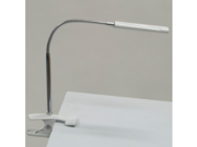 Art Clamp Lamp In SILVER/WHITE