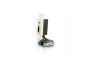 C2G 40352 DVI PLUS 3.5MM DECORA WALL PLATE IN WHITE