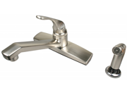 Ultra Faucets UF08315 Single Handle Stainless Steel Non-Metallic Series Kitchen