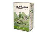 Good Earth 0456343 Green Tea Decaffeinated Lemongrass - 18 Tea Bags