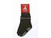 Silly Souls SO-4-1-2 Rock Star- 1-2 Year Socks- Black
