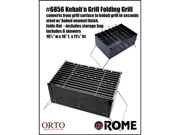 Rome Industries 6856 Kebab'n Grill- Orto Collection