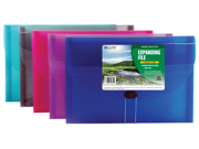 C-line Products Inc 48300 Assorted 7 Pocket Letter Size Expanding File - Case of 12