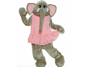 Forum Novelties Inc 33742 Elephant Plush Economy Mascot Adult Costume Size One-Size