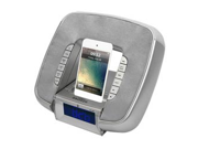 PyleHome PICL29S iPod & iPhone Docking/Aux input Clock Radio with FM Reciever & Dual Alarm Clock