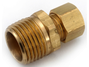 Anderson Metals 750068-0402 .25 in. X .13 in. Compression Coupling - Pack of 10