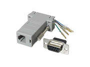 Ziotek 131 2000 Modular Adapter DB9 F to RJ11/RJ12