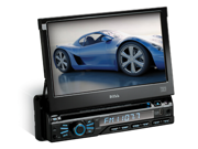 Boss Audio Systems - DVD RECEIVER W/ FLIP-OUT SCREEN