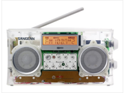 Sangean America PR-D5CL FM-Stereo RBDS-AM Digital Tuning Portable Receiver - Clear